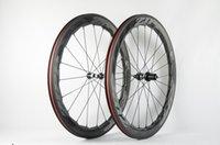 Zipp 454 60mm الفاصلة دراجة عجلة 700C كامل الكربون دراجة العجلات الفاصلة أنبوبي