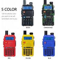 Walkie Talkie Baofeng UV-5R 5W 10km Dual Band VHF UHF Transceiver UV 5R Radio Portable Ham CB Hunting Transmitter
