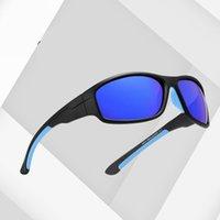 Queshark UV400 남자 편광 낚시 선글라스 어부 캠핑 하이킹 스키 고글 자전거 사이클링 안경 스포츠 낚시 안경 1751 Z2