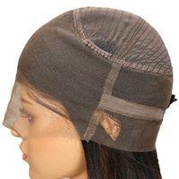 Capelli vergini brasiliani 360 frontale 8-26 pollici colore naturale 360 parrucca regolabile cinghie regolabili parrucche di pizzo a onda del corpo