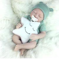 Avani 'Aaron' Soft Vinyl Realistic Newborn Baby Dolls Lifelike Reborn for Kids