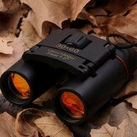 Компактные бинокулярные с низким освещенным ночным видением Большой окулярный водонепроницаемый бинокулярный для взрослых детей высокая мощность легкий LDF 210319