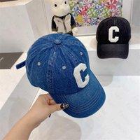 Topu Caps Kova Şapka Moda C Mektup Şapkalar Erkek Kadın Tasarımcı Beyzbol Şapkası 2 Renk En Kaliteli
