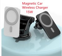 15W Magnetic Car Wireless Charger Car Holder Super Adsorption For iP12 Fast Wireless Charging Car Mobile Phone Holder