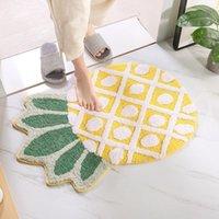 Carpets Creative Doormat Non-Slip Floor Carpet For Living Room Kitchen Door Mats Pineapple Fruits Entrance Rugs Bathroom