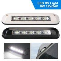 Caravan Accessories RV Van Trailer Exterior Lamp Light Bar LED Awning Porch 12V 24V Interior Wall Lamps ATV Parts