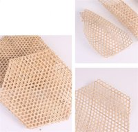 Wholesale Table Decoration Bamboo Food Liner Mat Handmade Non Stick Mesh Steamer Pad Heat Resistant TableMat for Seafood Dumplings Baking Pastry Dinning