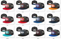 Fußball 2021 Entwurf Snapback-Kappe-Team-Hüte Graphit-Schwarz-Farb-Mix-Match Alle Kappen Top Qualität einstellbarer Hut