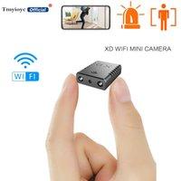 XD WIFI Kamera HD 1080 P Mini Kamera Gece Görüş Mikro Cam Hareket Algılama Küçük Destek 128 GB TF Kart Kameralar