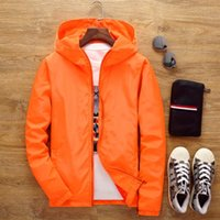 Men's Jackets Flower Jacket 2021 Fall Hooded Slim Long Sleeve Fashion Trench Brand Clothing