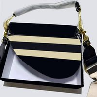 Borse a tracolla Designer Handbag Ricamo Fashion classico Ladies Luxury Signore Borsa a tracolla con la lettera Artwork Adatto per qualsiasi borse occasionali Consegna veloce