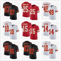 Custom Patrick 15 Mahomes Крис Джонс Футбол Джетки Mecole Hardman Anthony Sherman Daniel Sorensen Damien Williams Harrison Butker Byron Pringle
