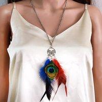 Pendientes Collar Pavo Real Pavimatería Tassel Mariposa Collares Collares Día de Gota Natural Día de la Independencia Juego de joyas para mujeres