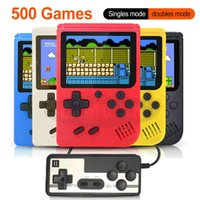 Inch Handheld Game Consoles 500 IN 1 Retro Video Console 8 Bit Player Players Gamepads For Kids Gift Portable