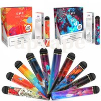 Disposable vape Pen Kit EPE Unik Plus E cigarette Kits huge capacity 1600mah 9.5ml Pods 2500+ Puffs Vaporizer