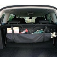 Car Organizer Tool Storage Bag Rear Seat BackMulti Hanging Nets Pocket Trunk Auto Stowing Tidying Interior Accessories
