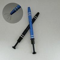 Terp Pearl Claw Prong Holder Metal Grabber Accessories Tweezer Clips Bead Pickup IC BGA Chip Picker Pen Catcher Dab Tool Gem Pearls Pillar
