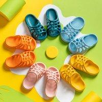 Miqieer Детские тапочки для мальчиков Девушки Летние мягкие подошвы противоскользящие водонепроницаемые пляжные ботинки пещеры тапочки для детских сандалий