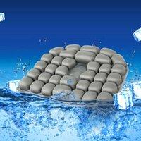 Cushion Decorative Pillow JFT Hemorrhoid Cushion Air .Caudal Sciatica Relief Home Office Chair Wheel Pad 17.7 × 15.7 1.9 Inches