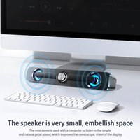 Portable Speakers Computer Bluetooth Speaker Desktop Soundbar Double Horn 4 Units Stereo Subwoofer Home Theater For PC TV 3W