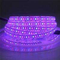 Bande à LED flexible Lumière 5M 2835 SMD DC 12V 24V 234/240 LED / m lampe de bande plus brillante que 3528 ruban ruban