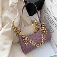 Evening Bags 2 Pieces Classic Clutch Handbags For Women Embossed Crocodile Effect Shoulder Bag Underarm Purse Tote Zipper Closure