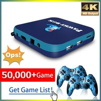 Pawky Box Game Console for PS1 DC N64 50000+ Games Super Console WiFi Mini TV Kid Retro 4K Video Game Player