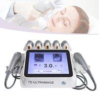 2021 Profesyonel 7D HIFU Ultrason Şekillendirme Yüz Kaldırma Makinesi Vücut Zayıflama ve Yüz Anti Aging Anti-kırışıklık Cilt Kaldırma