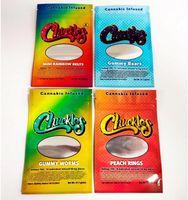 Edibles Packaging 420 Sentore borse a prova di odore borse infatte 50 mg Anelli di pesca Corda Esotico 710 Pacchetto BagPackaging Mylar Runtzkr Dank Gummies