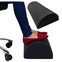 Ergonomische Füße Kissenhalterung Fußstütze Unter Schreibtischhocker Schaumkissen für Home Computer Arbeitsstuhl Reise Teppich Teppiche