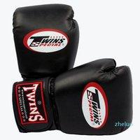 10 12 14 унций боксерских перчаток PU кожи Muay Thai Guantes de Boxeo Бесплатная борьба MMA Sandbag Sandbag Grade Glove для мужчин женщин детей