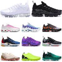2021 Nike Air max vapormax plus utility fly knit 2.0 Womens Herren Laufen Schuhe MOC Triple White Black Weltweit Hyper Viole Sport Turnschuhe Trainer Größe 13