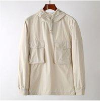 Мужские пуловерные толстовки дизайнерские куртки для веткой ветровка мода мода с капюшоном куртка пальто мужская одежда