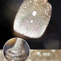 PCS UV-LED-Lampe Nagelschimmer Party Gel Polish Glitter für Maniküre Set Lacke Base Top Coat Lacquer TSLM1
