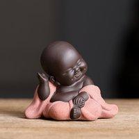 N Çay Favor Mutlu Maitreya Buda Çay Pet Teahe House Süsler Seramik Ev Dekor Etli Bitkiler Dekorasyon 4 Stil 2075 V2 Seçmek için