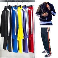 Yeni Erkekler Eşofman Ter Takımı Moda Spor Mans Kadınlar Casual Ceketler Eşofmanlar Jogger Dış Konfeksiyon Pantolon Seti Erkek Ceket Spor Angels Suits Setleri S-XL Setleri