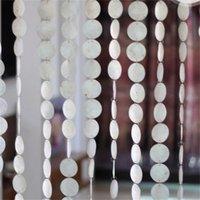 Vorhang Natürliche Muscheln Verschmutzungsfreie Vorhänge Indoor Partition Dekorative Wind Chimes Vorhänge Hotel Dekoration Tür Vorhänge 769 R2