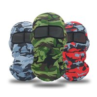 Cycling Caps & Masks Camouflage Mask Full Face Sport Running Military Scarf Summer Hunting Bandana Bike Training Head Cover Tactical Shield