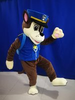 Police dog mascot costume cartoon clothing adult size with high quality EMS free ship