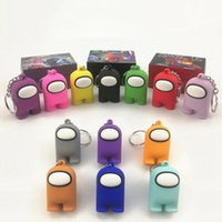 미국의 애니메이션 게임 PVC 키 체인 신탁 아무도 장난감 배낭 열쇠 고리 펜던트 키즈 선물 도매