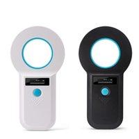 Tracciamenti di attività Scanner di alta qualità RFID Smart Animal Reader Tag con display OLED per Dog and Cat Tracking Gestione