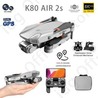 idg 2021 NEW K80 Air 2s 4K Drone Professional HD Camera EIS Anti-shake 28mins Brushless Motor Foldable Quadcopter Gifts Toys
