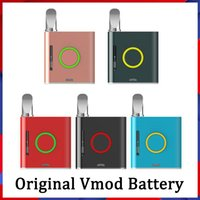 100% Original VAPMOD VMOD KIT E Cigarros Vape Vape Mod 900mAh Vaporizador Caneta VV para 510 Rosto de cera de óleo grosso