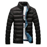 Autumn Winter Jackets Parka Men Warm Outwear Casual Slim s Coats Windbreaker Quilted M-6XL 210430