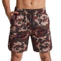 Pantaloncini da uomo Bambini europei Camouflage Casual Pants Home Capris