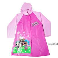 Escursioni domestiche per bambini Carino carino Cartoon Raincoat Cape PVC Coat Rain Pink Pink Unicorn Prints A06 XHR7G2 7Qig7Qig7Qig