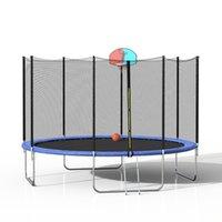 Trampolín al aire libre 14ft Equipo de aptitud grande Red protectora Anti-Caída de alta calidad Almohadilla de salto de alta calidad Nets Protección Guardia