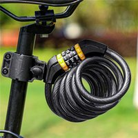 Bike Locks Lock Anti Theft Security Bicycle Accessories Key Password Cable MTB Road Motorcycle Cycling
