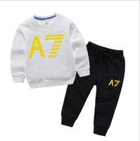 Fashion Photos Brand Kids Sets Children T-shirt And Shorts Pants Kids Tracksuits Children Sport Suit 2 Pcs Short Sleeve