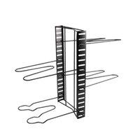 Hooks & Rails Shelf Storage Organizer Lid Holder Multi Layer Counter Pans For Kitchen Home Pot Rack Space Saving Cabinet Iron Adjustable
